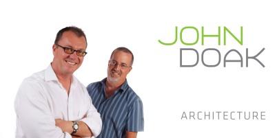 Doak (left) and Yeo make up the powerful duo team at John Doak Architecture (credit: John Doak Architecture)