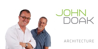 Doak (left) and Yeo make up the powerful duo team at John Doak Architecture (credit: John Doak Architecture)